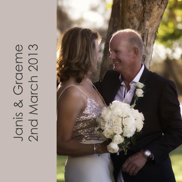 Janis & Graeme Wedding Photobook