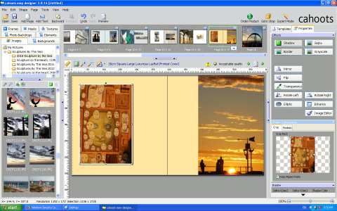 Cahoots Easy Designer Photobook Software