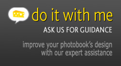 Personalised assistance to improve the design of your photobook